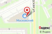 Схема проезда до компании Золотая сова в Кемерово