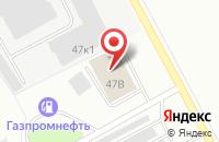 Схема проезда до компании Автодефлектор в Кемерово