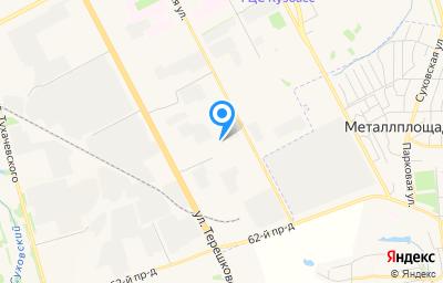 Местоположение на карте пункта техосмотра по адресу г Кемерово, ул Волгоградская, д 51Б