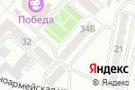 Схема проезда до компании Холди в Ленинске-Кузнецком