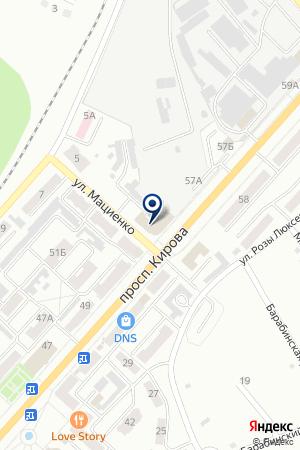 СИБАКАДЕМБАНК на карте Ленинска-Кузнецкого
