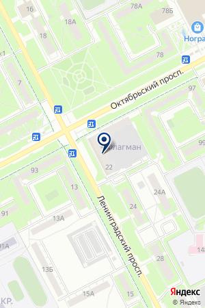 Ф МВД РОССИИ ПО КЕМЕРОВСКОЙ ОБЛАСТИ на карте Юрги