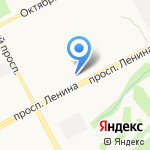 ГрандОтель на карте Кемерово