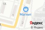 Схема проезда до компании Тюликс в Ленинске-Кузнецком