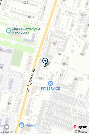 ГРУППА КОМПАНИЙ МОНОТРАНС на карте Ленинска-Кузнецкого