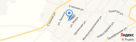 Старобачатский детский сад на карте Старобачатов