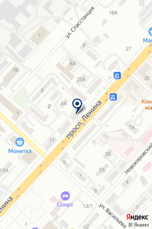 ТФ ОСЕНКО А.А. на карте Ленинска-Кузнецкого