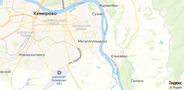 Металлплощадка на карте