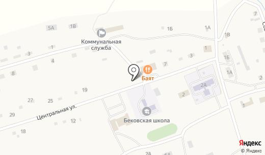 Фельдшерско-акушерский пункт. Схема проезда в Беково