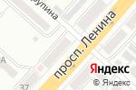 Схема проезда до компании Дарница в Ленинске-Кузнецком