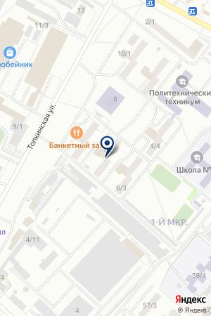 ПРОДОВОЛЬСТВЕННЫЙ МАГАЗИН РАДУГА на карте Топков