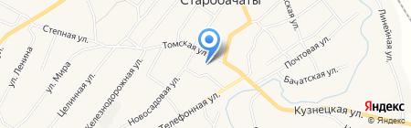 Старобачатский дом культуры на карте Старобачатов