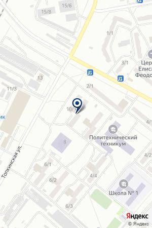 ЧОП ОМЕГА на карте Топков