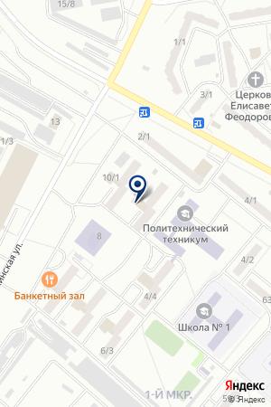 ОБЩЕЖИТИЕ КОМСЕРВИС ЛК на карте Топков