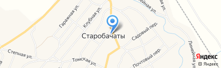 Жасмин на карте Старобачатов