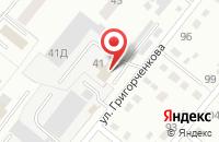 Схема проезда до компании Домстрой в Ленинске-Кузнецком