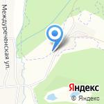 Кемеровский Лесхоз на карте Кемерово