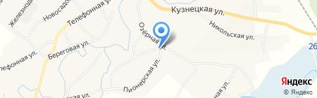 Мега на карте Старобачатов