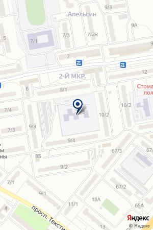 МДОУ ДЕТСКИЙ САД ЯГОДКА на карте Ленинска-Кузнецкого
