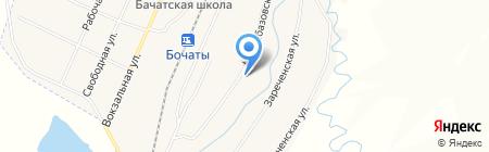 Фиалка на карте Старобачатов