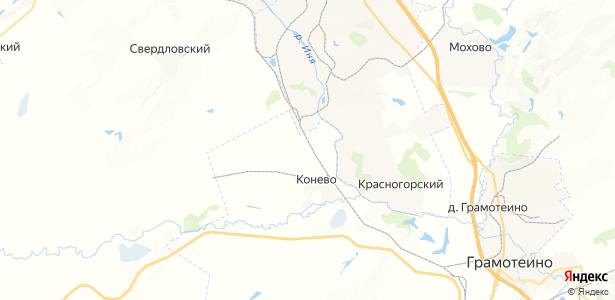 Проектная на карте