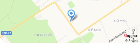 Ветеринарная клиника на карте Белово