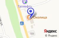 Схема проезда до компании ТОРГОВЫЙ ДОМ МИРОН в Полысаеве