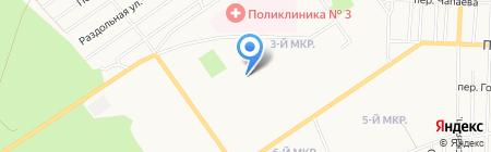 Средняя общеобразовательная школа №32 на карте Белово