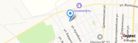 Гидрометеорологическая станция г. Белово на карте Белово