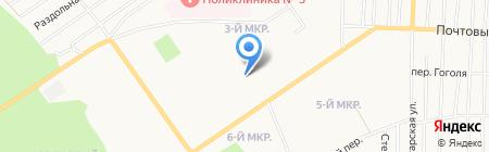 Ювелирная мастерская на ул. 3-й микрорайон на карте Белово