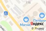 Схема проезда до компании Багира в Полысаево