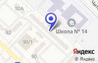Схема проезда до компании НОУ ЦЕНТР РАЗВИТИЯ СЛАЙСИНГ в Полысаеве