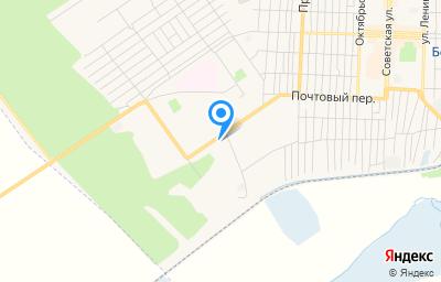 Местоположение на карте пункта техосмотра по адресу Кемеровская область - Кузбасс, г Белово, мкр 6-й, д 9