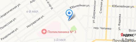 Детский сад №44 Сказка на карте Белово
