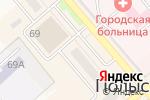 Схема проезда до компании Садовый центр в Полысаево