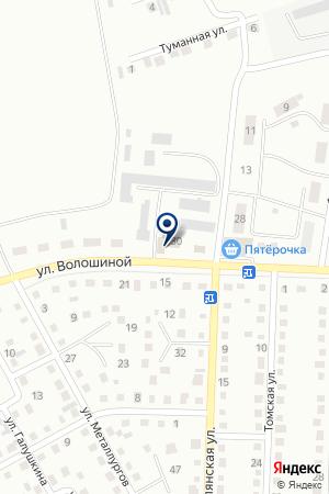 ОБЩЕСТВО СЛЕПЫХ на карте Белово