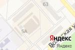 Схема проезда до компании На матрице в Полысаево