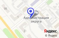 Схема проезда до компании ТАКСОФОНЫ ЛЕНИНСК-КУЗНЕЦКИЙ ЦТ в Полысаеве