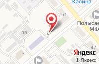 Схема проезда до компании Хирон в Ленинске-Кузнецком