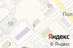 Схема проезда до компании Полигон в Полысаево
