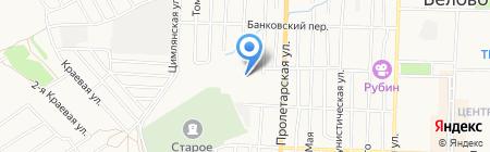 Шиномонтажная мастерская на карте Белово