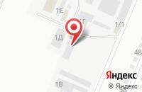 Схема проезда до компании Лукич в Белово
