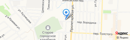 Пасека на карте Белово