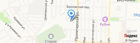 Беловская станция по борьбе с болезнями животных на карте Белово