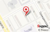Схема проезда до компании Мир Окон в Белово