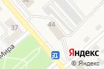 Схема проезда до компании Faberlic в Полысаево