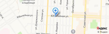 Авантаж на карте Белово