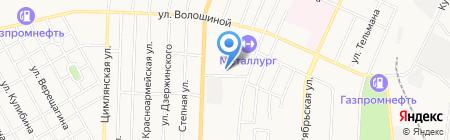Металлург на карте Белово