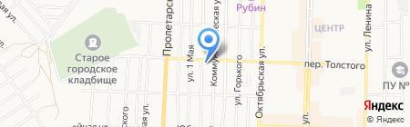 Золотая нива на карте Белово