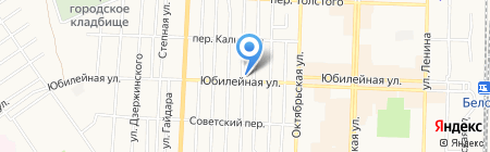 Магазин фруктов и овощей на карте Белово